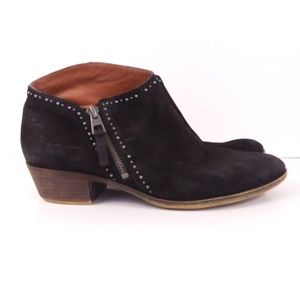 Lucky Brand Benna Suede Ankle Boots 9.5M